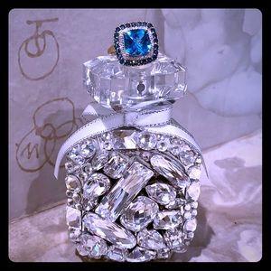 "🔷""BEAUTIFUL 14k Gold London Topaz Diamond Ring""🔷"
